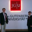 ヨハネス・グーテンベルク大学と海外学術交流協定を結びました