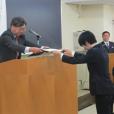 平成27年度 奨学生証書 授与式が執り行われました