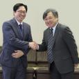 慶熙大学校の崔先生による法学部長表敬訪問がありました