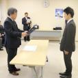 平成27年度日本大学法学部校友会奨学金の証書授与式が執り行われました