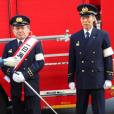 神田消防署との消防演習について