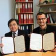 ウィーン大学と学術交流に基づく語学研修実施の覚書を締結しました