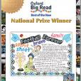 「オックスフォード・ビッグ・リード2016」新刊部門優秀賞を受賞した関和亜希子さんへの賞状授与がおこなわれました