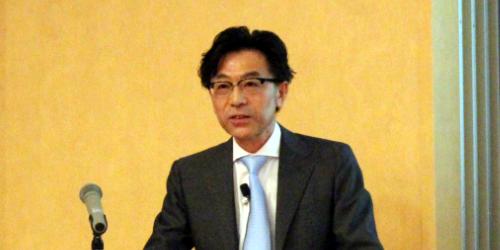 小田司学部長による学部運営方針説明会が行われました。