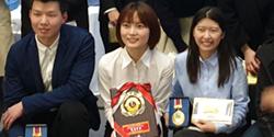 五大学留学生日本語スピーチコンテストで張夢恬さんが最優秀賞を受賞しました