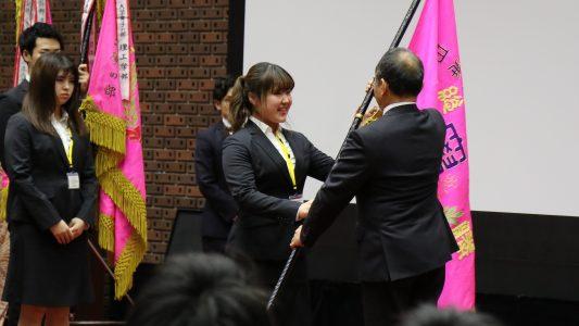 日本大学体育大会において優秀な成績を収め,本学部が表彰されました。