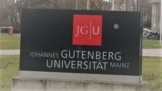 三村淳一教授がドイツのヨハネス・グーテンベルク大学で特別講義を行いました